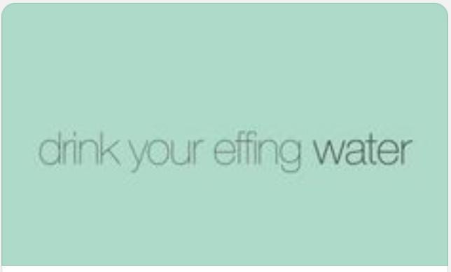 effing water