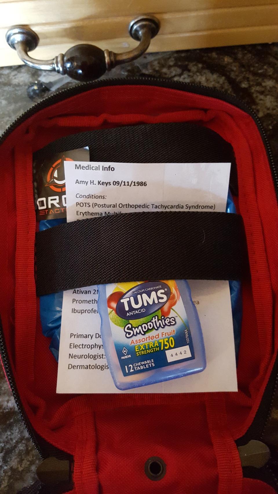 go bag inside 2