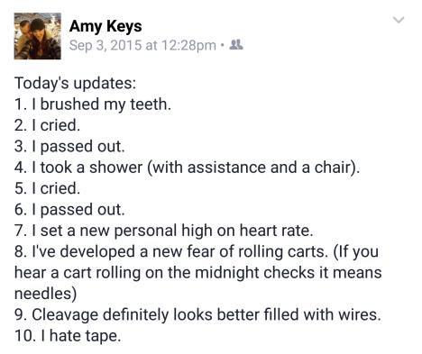 hospital updates