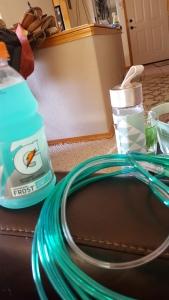 gatorade oxygen tube