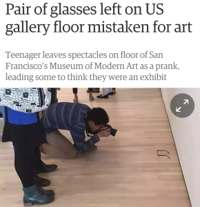 glasses art