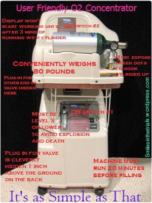 oxygen concentrator setup edited