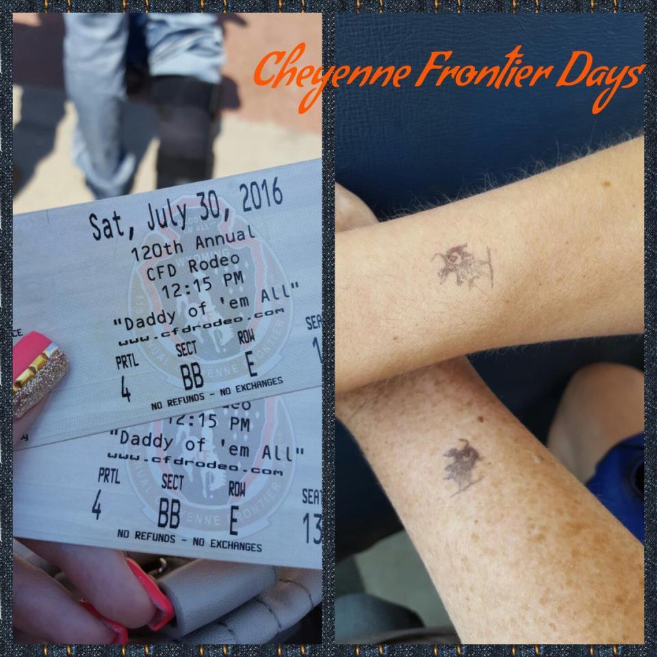 cheyenne frontier days tickets