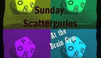 Sunday Scattergories At The Zoo Pots Finding Smiles In The Trials