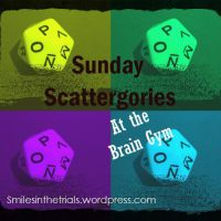 Sunday Scattergories- Football Edition