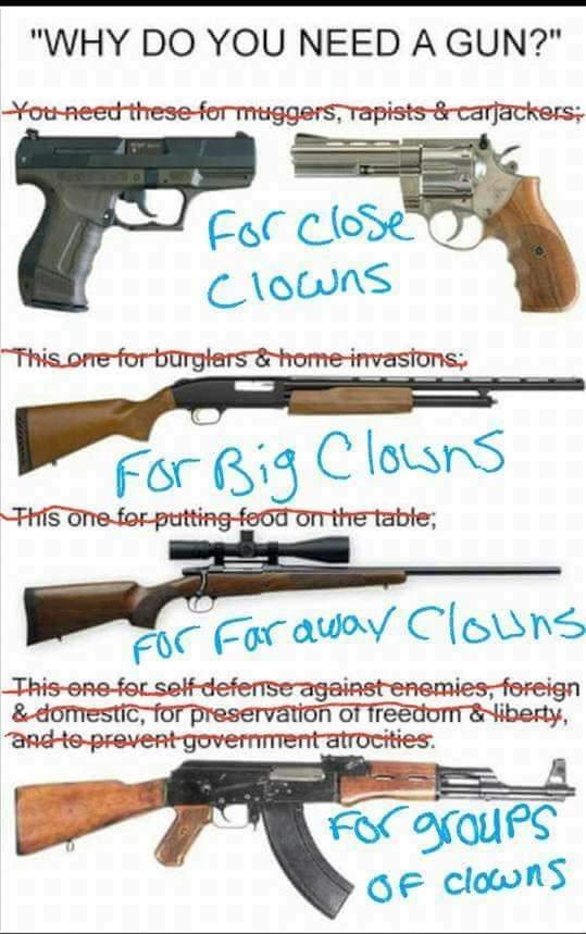 clown-guns