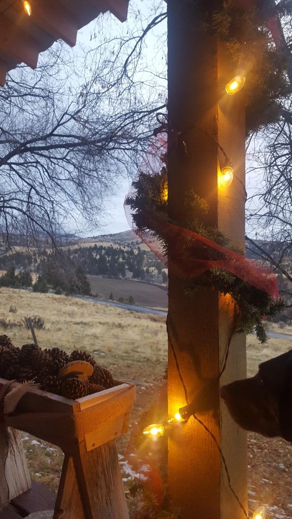 ranch in december