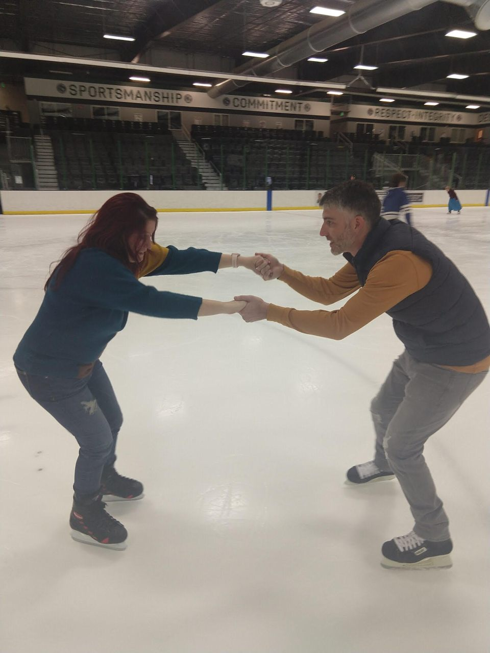 josh and amy skating 2