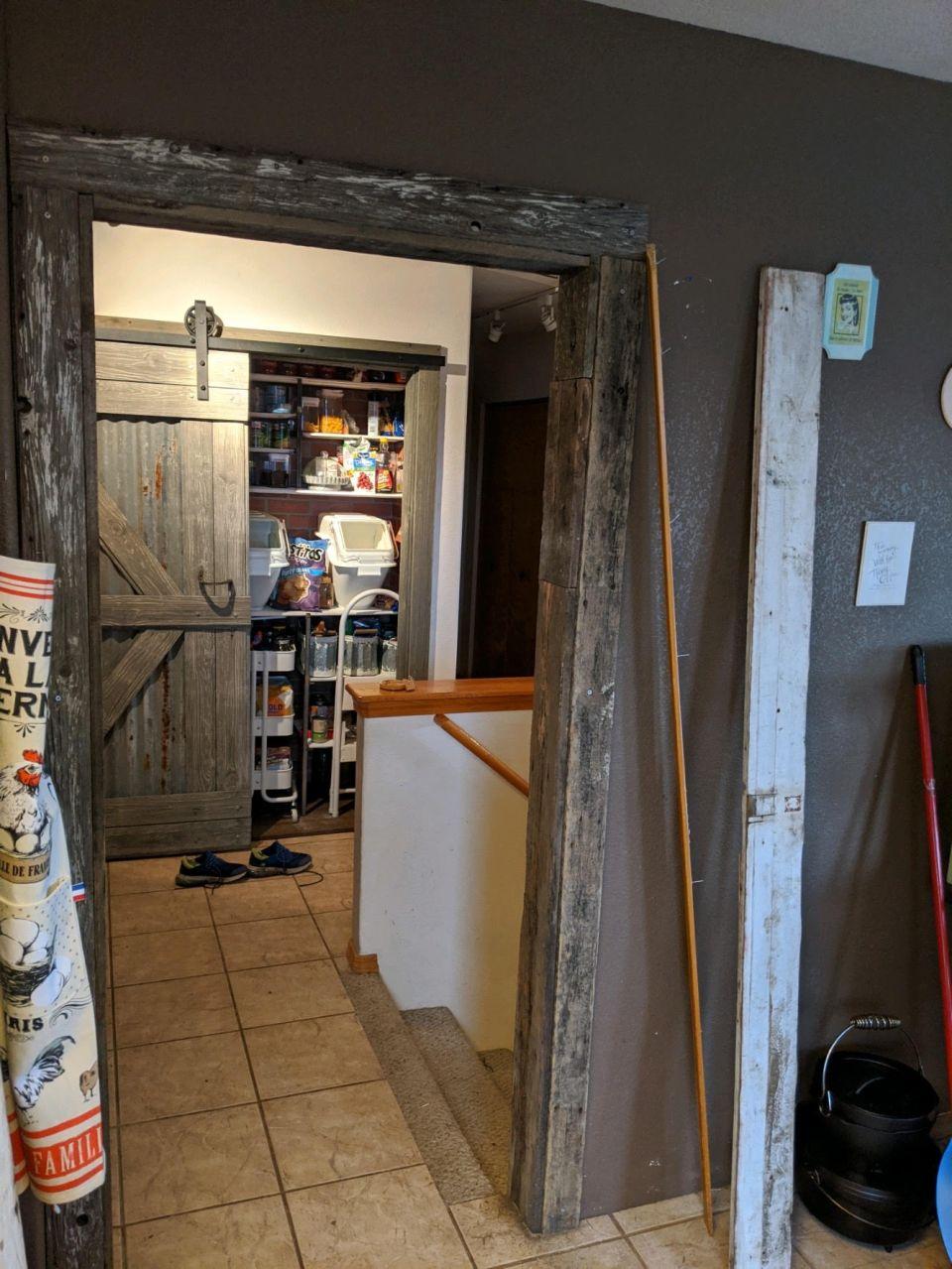framing the door