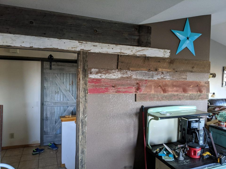 starting wall